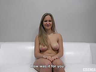 czech girl first time shoting