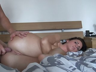 Kinky chick Nata Lee tries out anal sex
