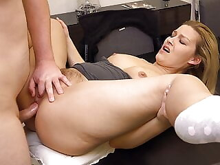 DOUBLE ORGASM while ass fucking!!! l DADDYS LUDER