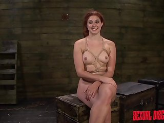 Tied Redhead Had Sex In Face And Bootie