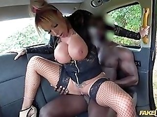 Brooke Jameson fucking hunky black dude in the car