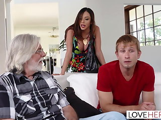 LoveHerFeet - Stepmom Wants My Cum On Her Feet