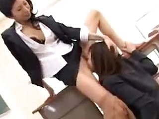 Schoolgirl In Uniform Licking Fingering Her Teachers Pussy