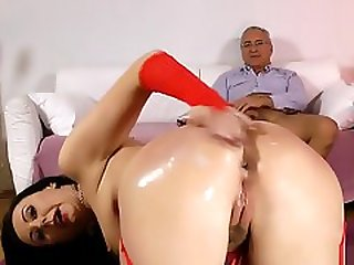 Anal Creampied Brit Ho
