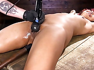 Squirting from Bound Orgasms