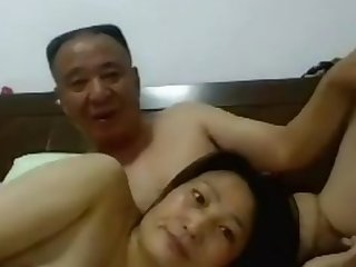 Daddy Chinese Sex with his Wife1