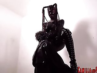 Latex Suit Shemale Fucks