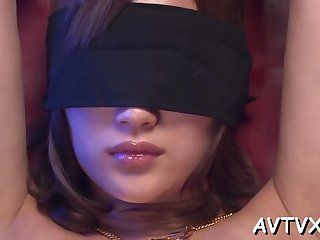 Elegant girlie aika is fucked by a fake penis