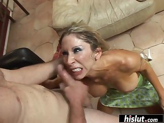Blondes tits are made for titty-fucking