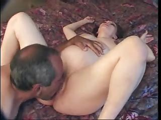 Eating out and fucking pregnant hottie