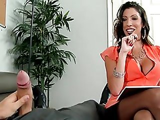Dava Foxx Fucks Her Big Dicked Client & Gets A Load Of Cum On Her Face