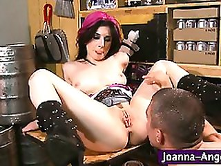 Tattooed goth pornstar fucked