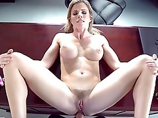 A Dude Gives Anal Pleasure To Sex Mad Milf Boss To Get The Job.