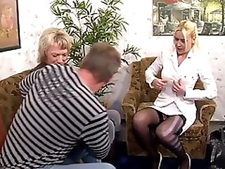 Unknown German Mature Milf Threesome Sweet Suesse