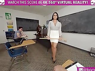 VRBangers.com-Sexy Teacher Romi Rain Getting Rammed