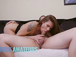 Couple makes slopp face fuck and anal sextape -Trueamateur