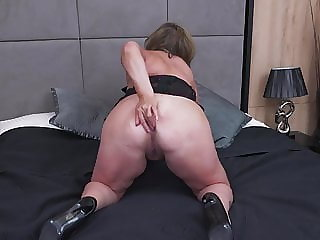 Chubby mature mom needs a good fuck