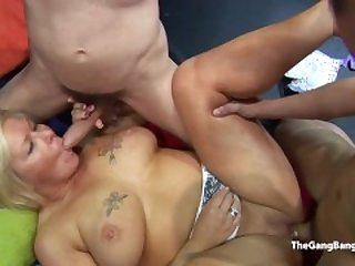 Amateurs from the estate take cum from any guy