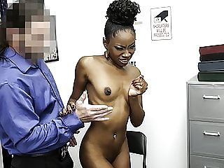 ShopLyfter - Ebony Teen Gets Punished With Creampie