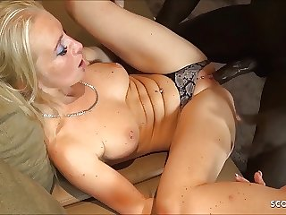 German MILF Kacy Kisha Bareback Fuck Black Monster Cock