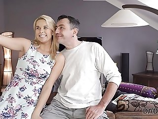 DADDY4K. Dad wants to fuck angel Dream Nikki while her bf