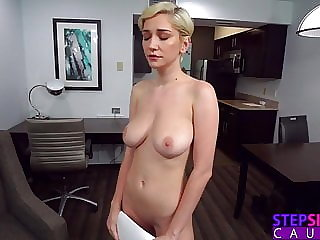 Three Pumps But That's It! - Step Sis Practicing Sex Scene