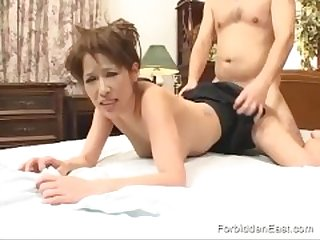 Hardcore Dominating Sex For Japanese Couple In Bareback Asian Scene