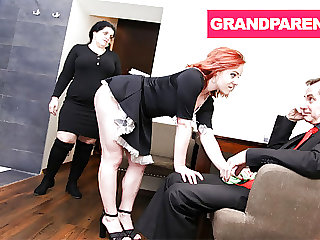 Grandma Catches Grandpa with the Maid