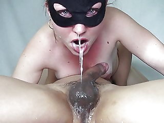 69 drooling deepthroat and 4 cumshots - For a fan