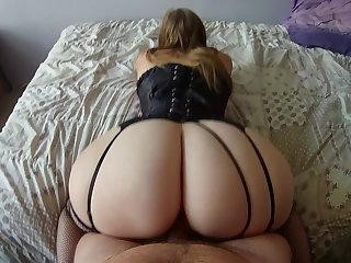 BEST POV of your life with this PAWG French big ass incredible!