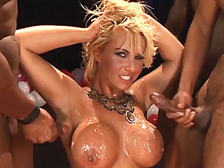 stepmoms anal gangbang birthday party